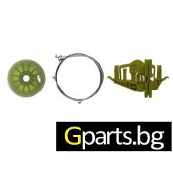 FIAT Doblo 2 Ремонтен комплект за преден стъклоповдигач